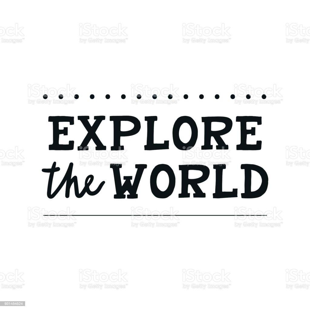 Entdecken Sie Die Welt