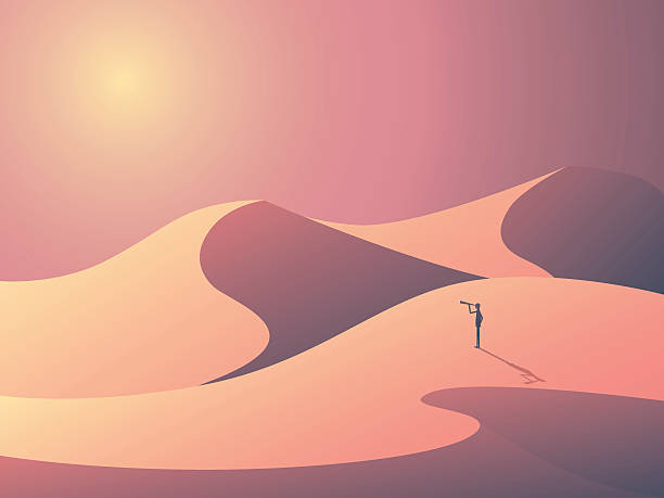Landscape Illustration Vector Free: Best Sand Dune Illustrations, Royalty-Free Vector Graphics