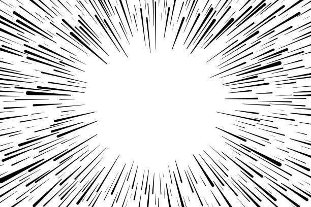 Explosion Background vector art illustration
