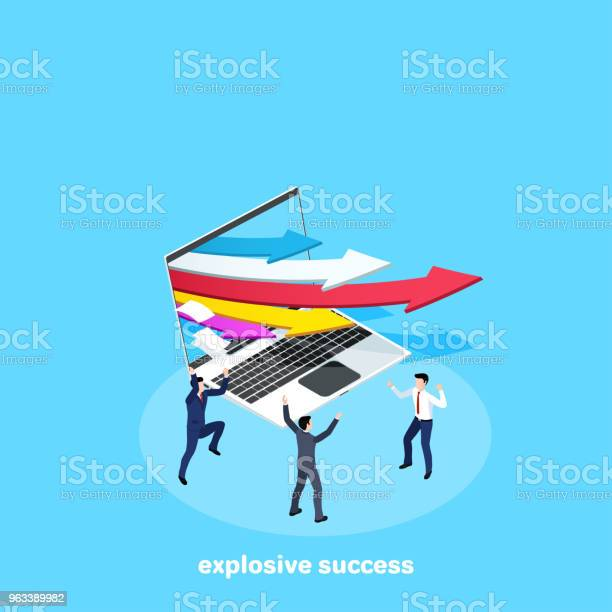 Wybuchowy Sukces - Stockowe grafiki wektorowe i więcej obrazów Aspiracje