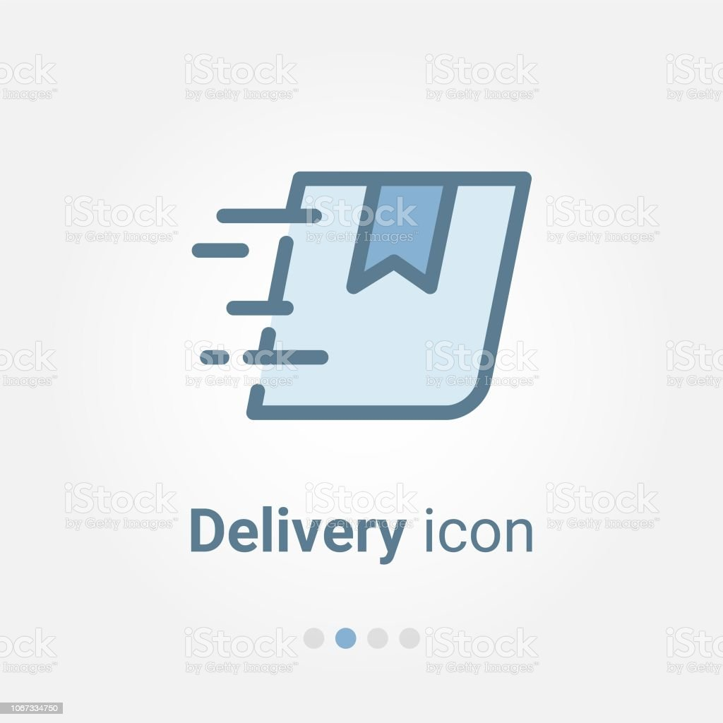 Express Delivery Vector Icon Stock Illustration - Download