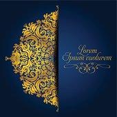 Exquisit Golden Mandala