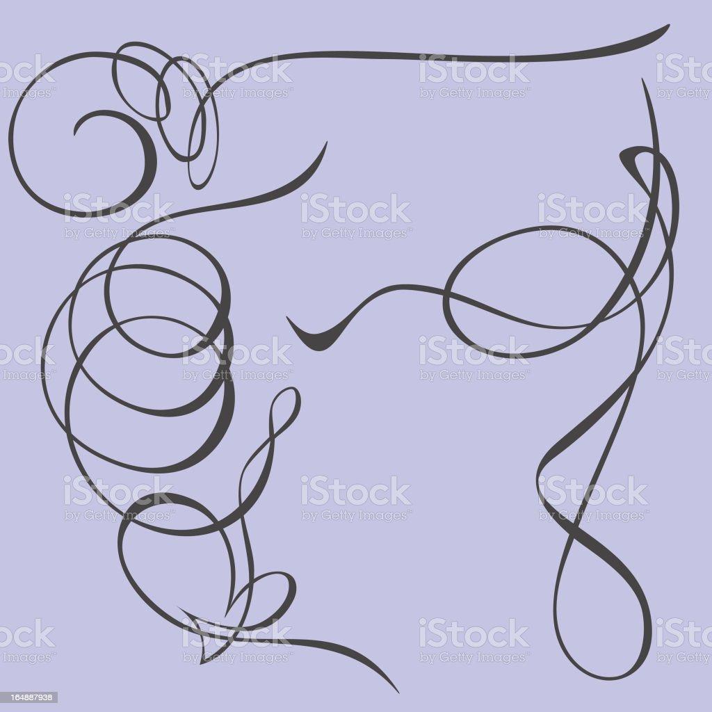 Exquisite Design Elements 14  (Vector) royalty-free stock vector art