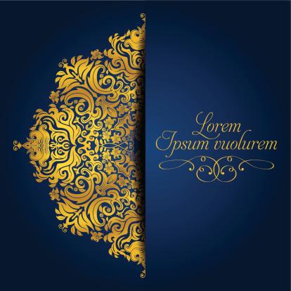 Exquisite Golden Mandala