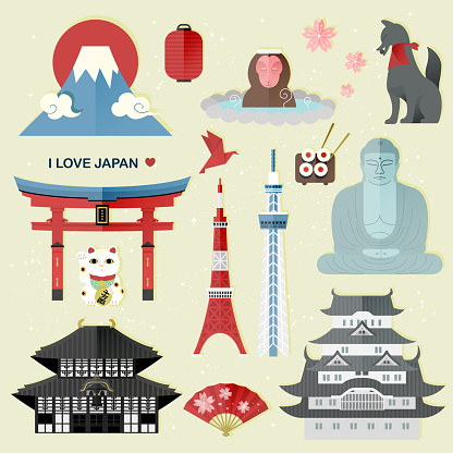 exquisite Japan travel collections set