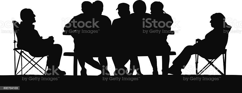 ExtendedFamily vector art illustration