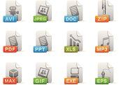 Extension icon set