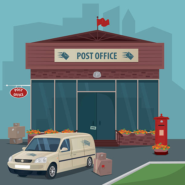 Post Service: Royalty Free Post Office Clip Art, Vector Images
