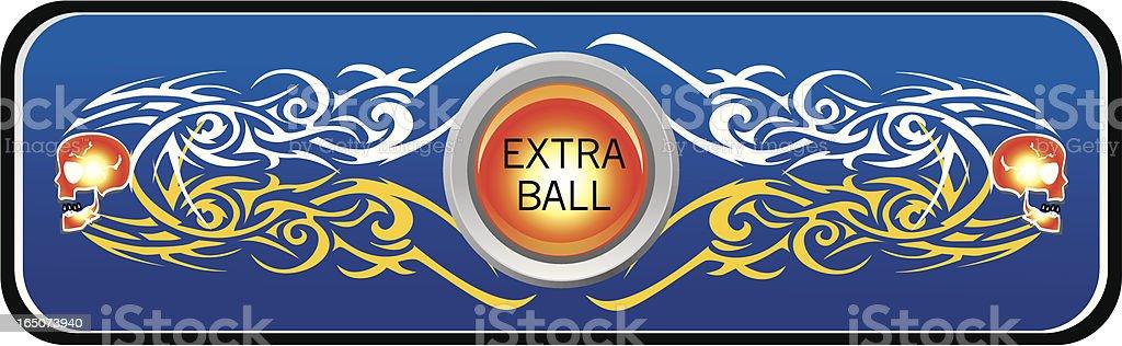 extra ball pinball sign
