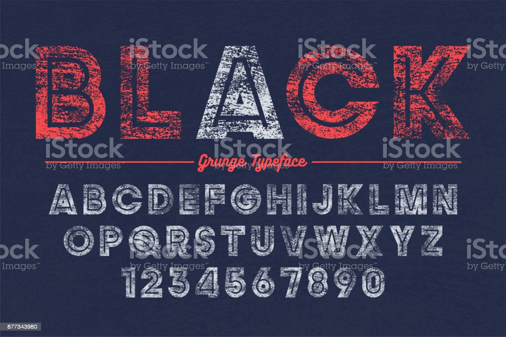 Extra Bold vector decorative bold font design, grunge, alphabet, typeface
