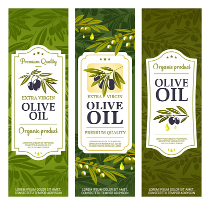Extra virgin olive oil, product bottle package