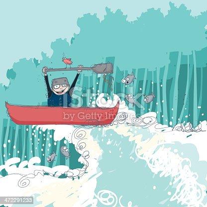istock Extreme canoeing 472291233