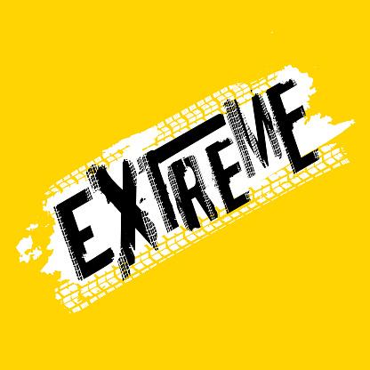 Extreme Offroad Lettering