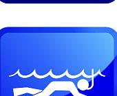Extreme Water Activities sticker set