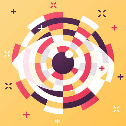Eye Abstract Modern Technology Artificial Intelligence