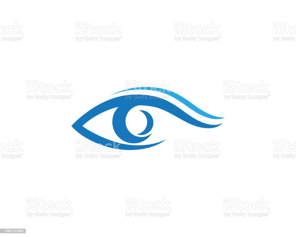 Eye Care Vector Logo Design Stock Vector Art & More Images