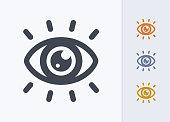 istock Eye Catching - Pastel Stencyl Icons 1185507286