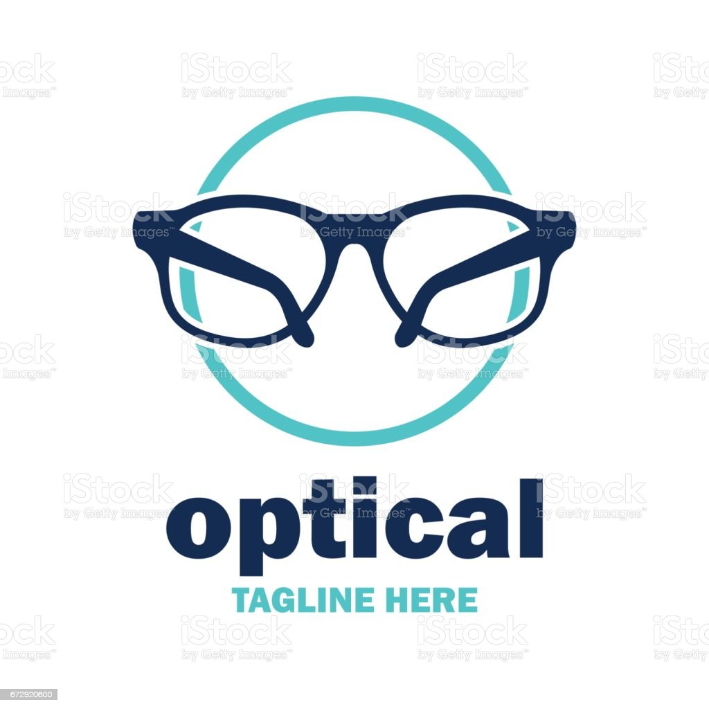 Augen-Klinik-Symbol – Vektorgrafik