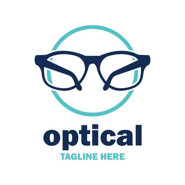 ilustraciones, imágenes clip art, dibujos animados e iconos de stock de icono de la clínica de ojo - optometrista