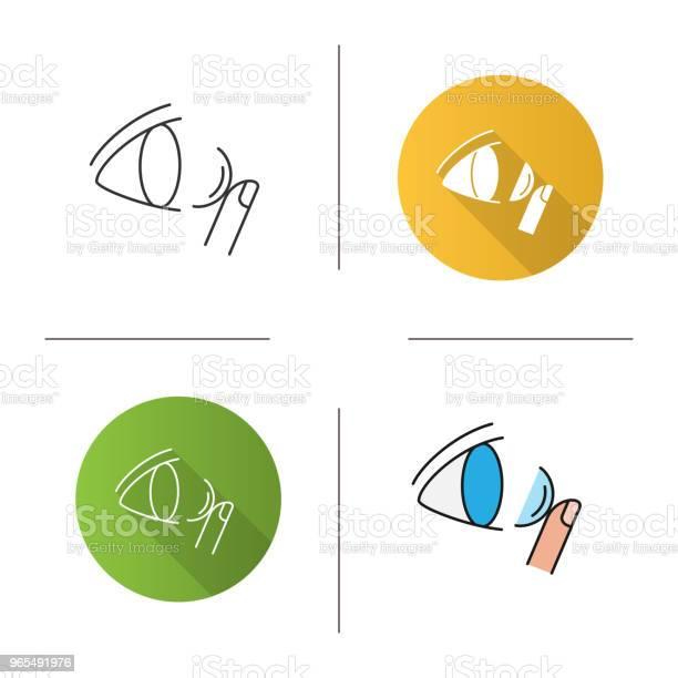 Eye contact lenses icon vector id965491976?b=1&k=6&m=965491976&s=612x612&h=b2u9pycdh1ok52wpiewggrgslcoi2 o770mmux5vxom=