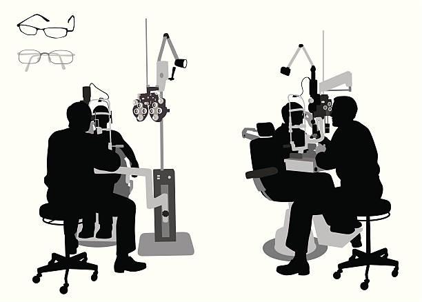 eyedoctor - 検眼医点のイラスト素材/クリップアート素材/マンガ素材/アイコン素材