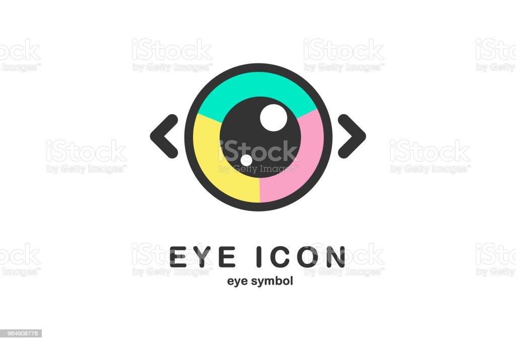 eye icon eye symbol royalty-free eye icon eye symbol stock vector art & more images of abstract
