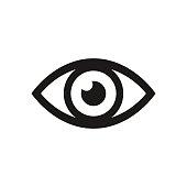 istock Eye icon. Vector illustration. 845329690