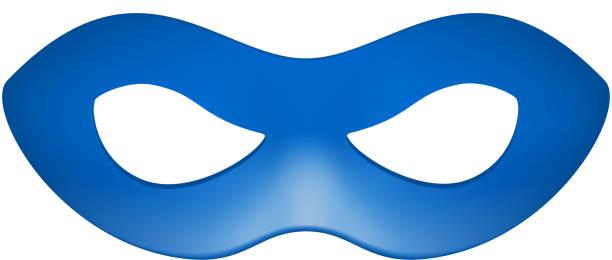 Máscara para los ojos en azul diseño - ilustración de arte vectorial