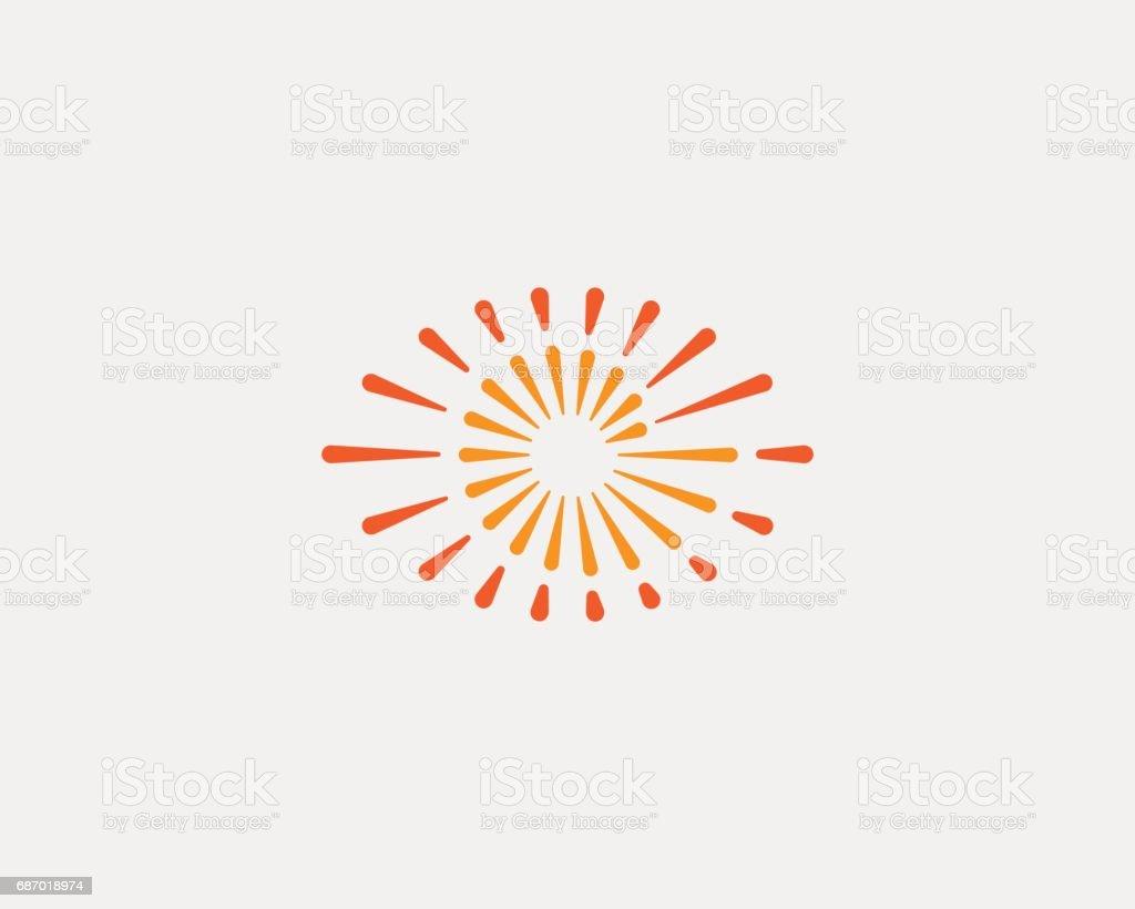 Eye swirl spiral infinity vector icon. Creative camera shutter vision icon. Photo video control sign. vector art illustration