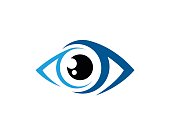 Eye Symbol Template Design Vector, Emblem, Design Concept, Creative Symbol, Icon