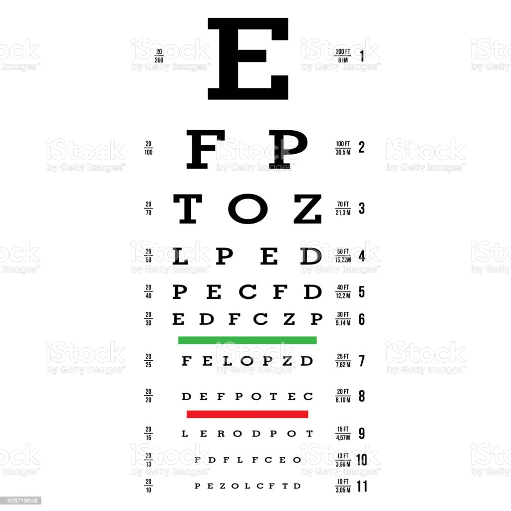Eye test chart vector letters chart vision exam optometrist check eye test chart vector letters chart vision exam optometrist check medical eye nvjuhfo Image collections