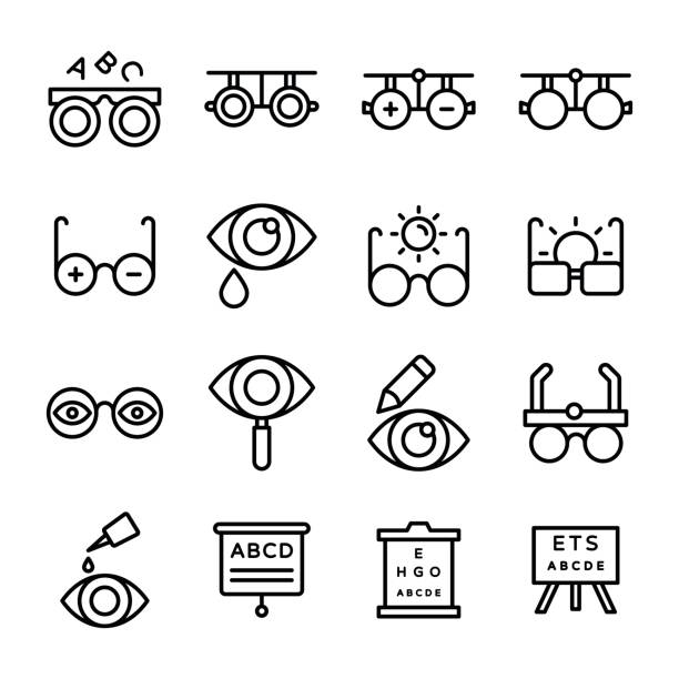 Royalty Free Presbyopia Clip Art Vector Images Illustrations Istock