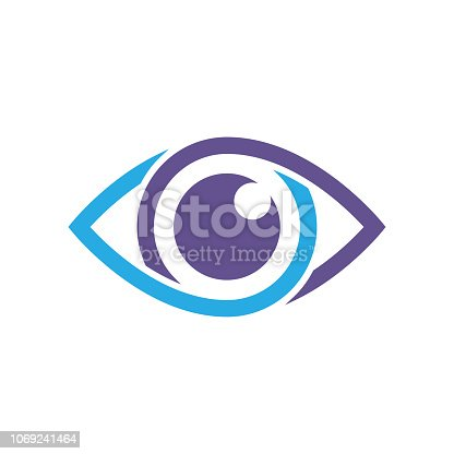 istock Eye vector icon, vector best flat icon, EPS 10 1069241464