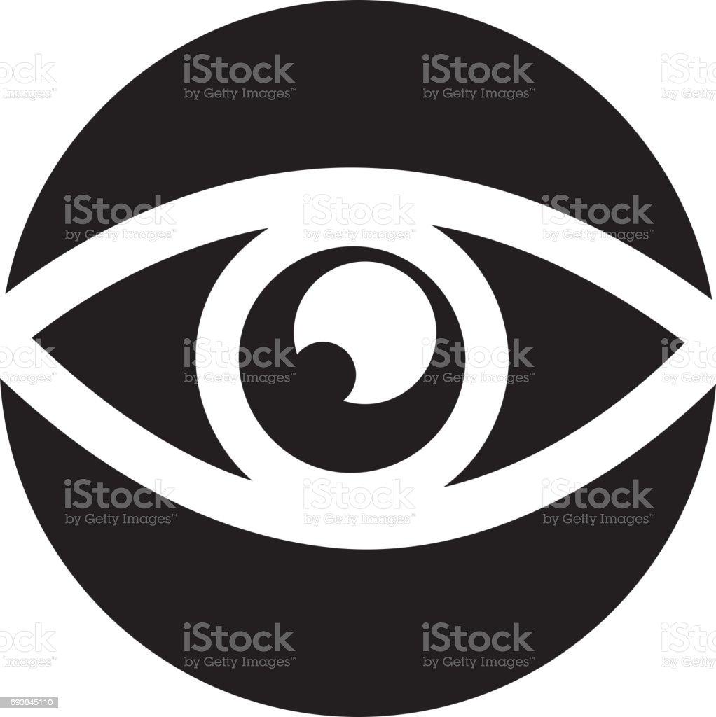 Symbol Symbol Auge Anzeigen Stock Vektor Art und mehr Bilder von ...