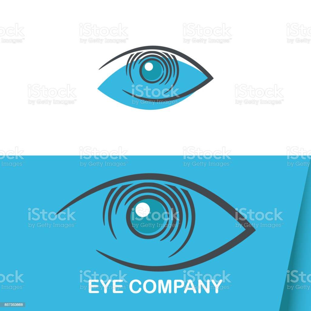 Auge Vision Logo Vorlage – Vektorgrafik