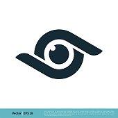 istock Eyeball Icon Vector Logo Template Illustration Design. Vector EPS 10. 1249962666