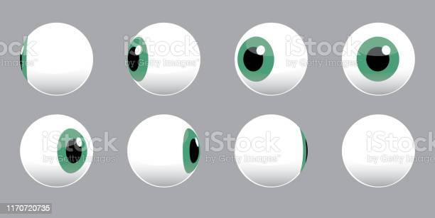 Ilustración de Ilustración Vectorial De Giro De Globo Ocular 3d y más Vectores Libres de Derechos de Embrujado