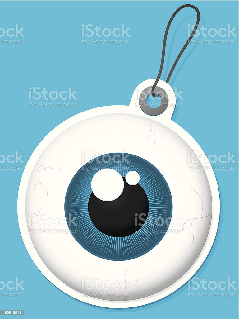Eyeball tag royalty-free eyeball tag stock vector art & more images of badge