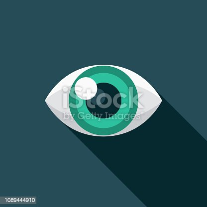 istock Eyeballing Graphic Design Icon Icon 1089444910