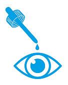 istock Eyedropper Eye Icon 1271246102