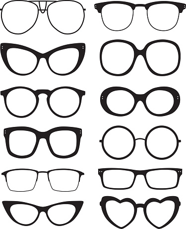 Eyeglasses Icons