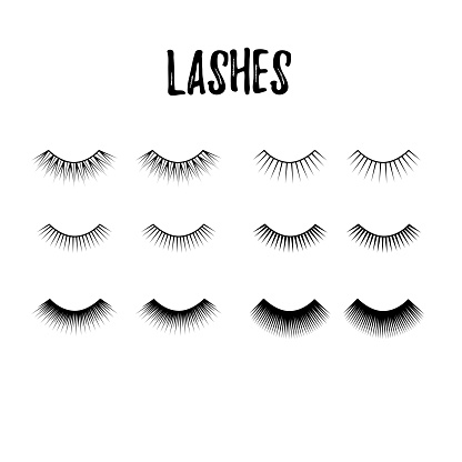 eyelash collection thick and long lashes for mascara