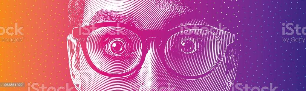 Eyes shock eyes shock - stockowe grafiki wektorowe i więcej obrazów 25-29 lat royalty-free