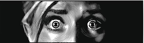 目おびえる - 恐怖点のイラスト素材/クリップアート素材/マンガ素材/アイコン素材