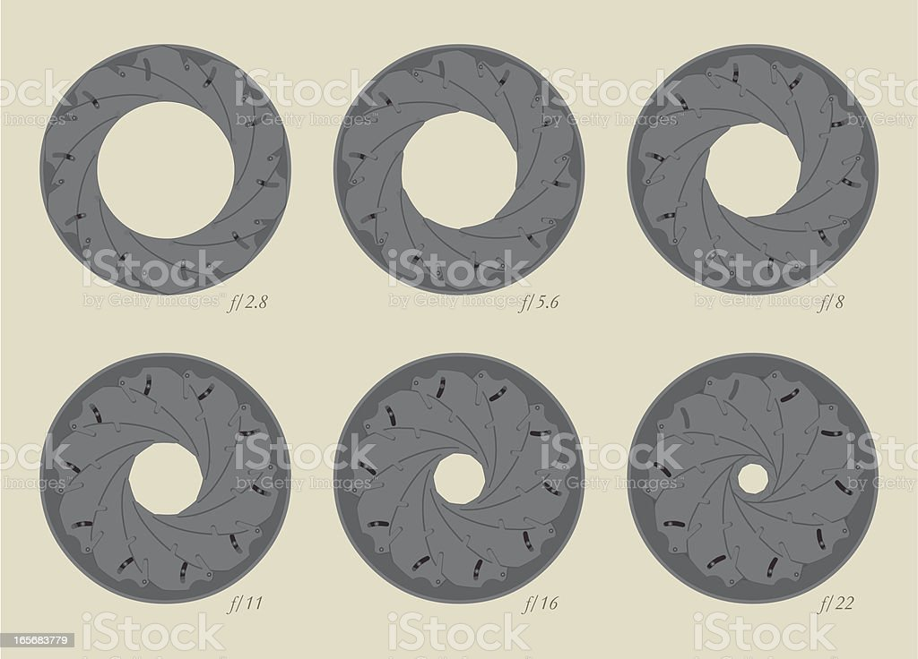 f stops royalty-free f stops stock vector art & more images of aperture