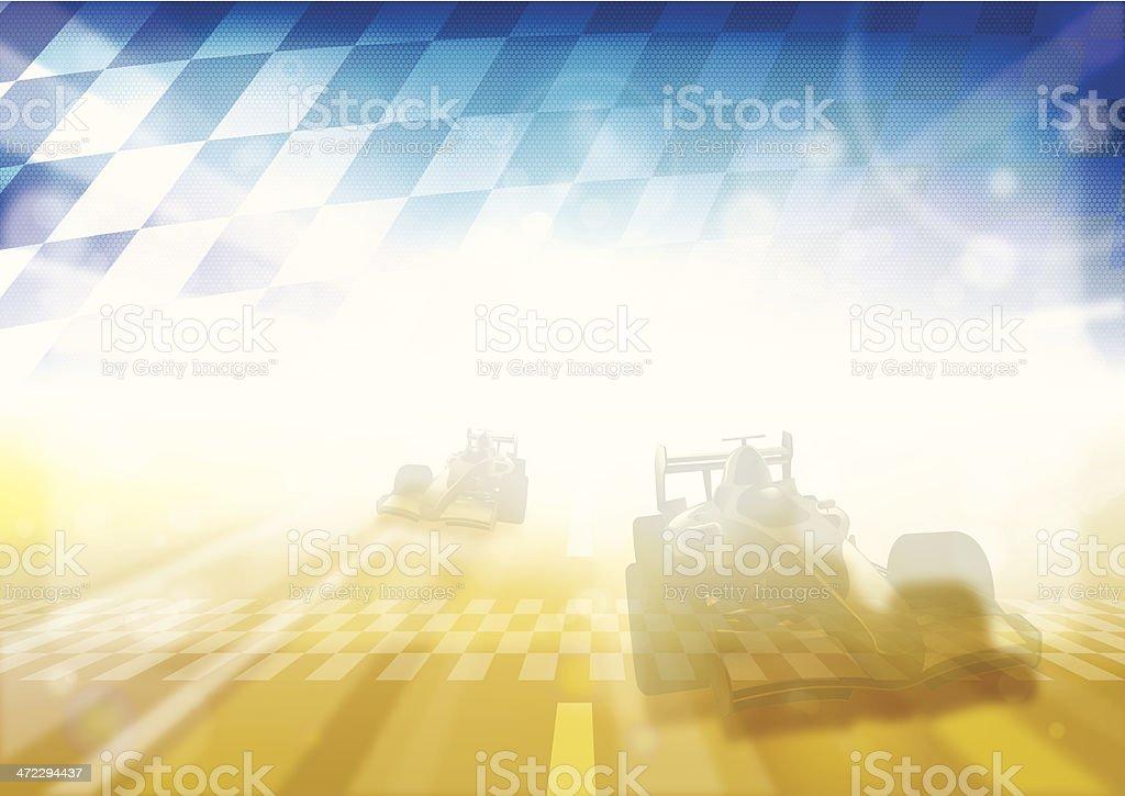 f1 racing royalty-free stock vector art