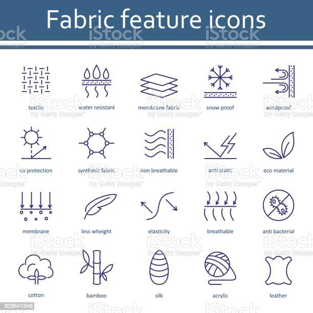 Fabric and clothes feature line icons vector id828641946?b=1&k=6&m=828641946&s=612x612&h=w6mj3jnfqpddtakfo6t08u49zc1g0ysohmlexyy ghe=