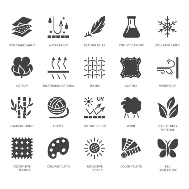 Best Waterproof Fabric Illustrations, Royalty-Free Vector