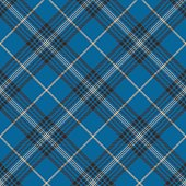 Fabric texture blue check plaid seanless pattern