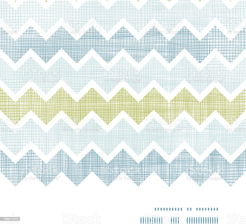 Fabric textured chevron stripes horizontal frame seamless pattern background royalty-free fabric textured chevron stripes horizontal frame seamless pattern background stock vector art & more images of abstract